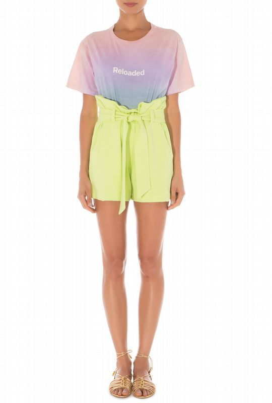 SHORTS JULY LIME