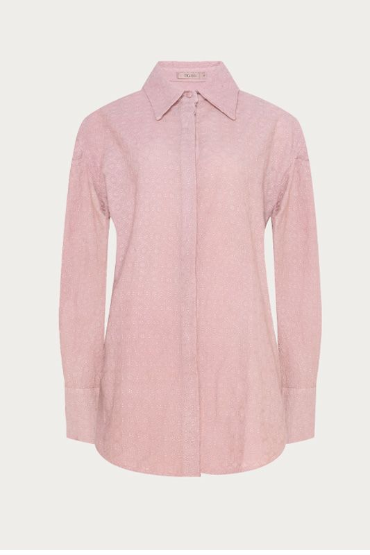 CAMISA LAISE ROSA