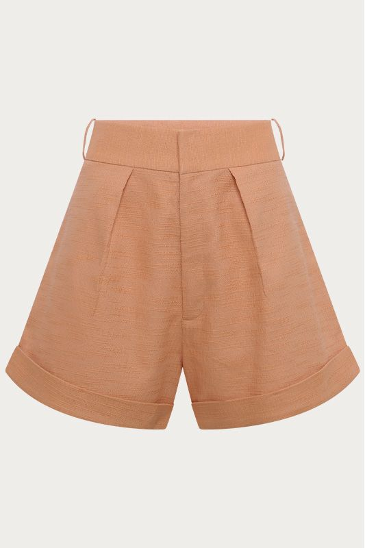 SHORTS CLOCHARD LARANJA