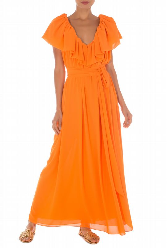 VESTIDO LOREN ORANGE