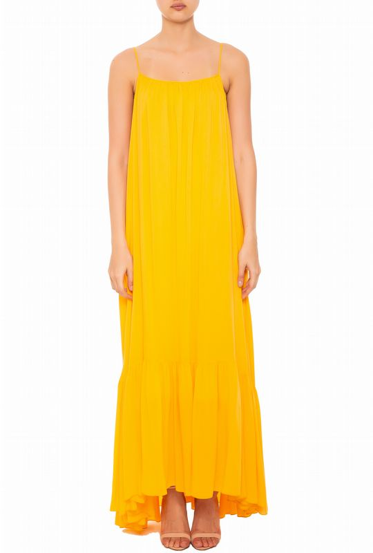 VESTIDO LONGO GEORGIA YELLOW