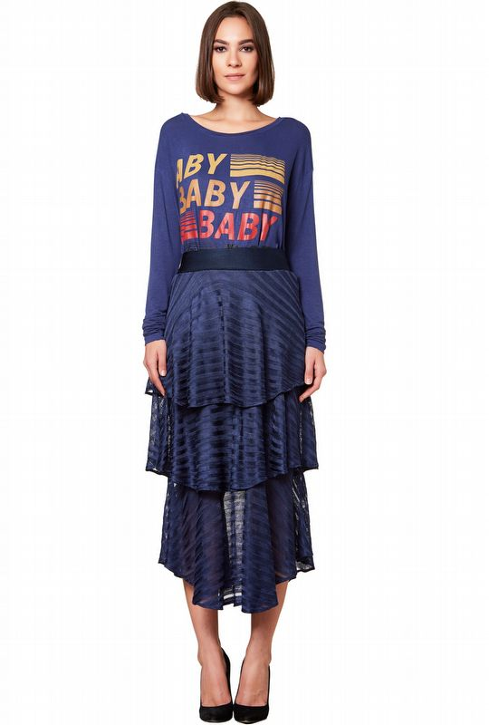 SAIA TRICOT DEEP BLUE