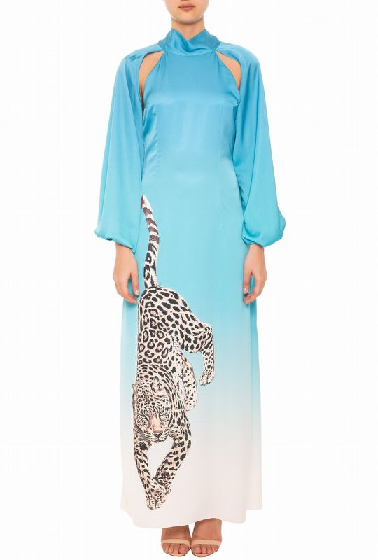 VESTIDO CHIC TIGER BLUE