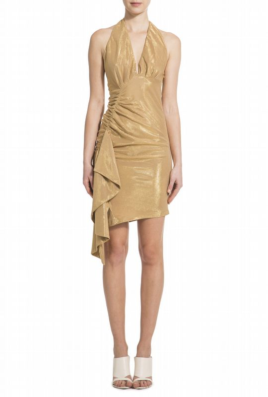 VESTIDO CARRIE GOLD