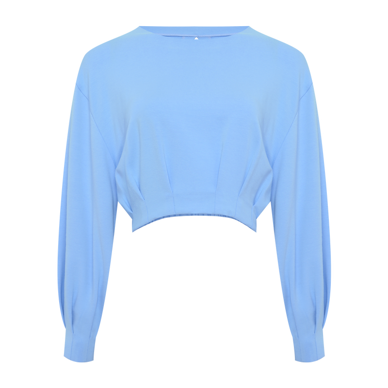 CROPPED ARIANE BLUE