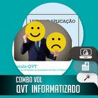 Combo QVT Informatizado + MANUAL