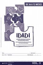 IDADI - Livro de Aplicação 36 a 72 meses