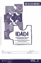 IDADI - Livro de Aplicação 4 a 35 meses