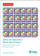 Cubos Livro de Exercício