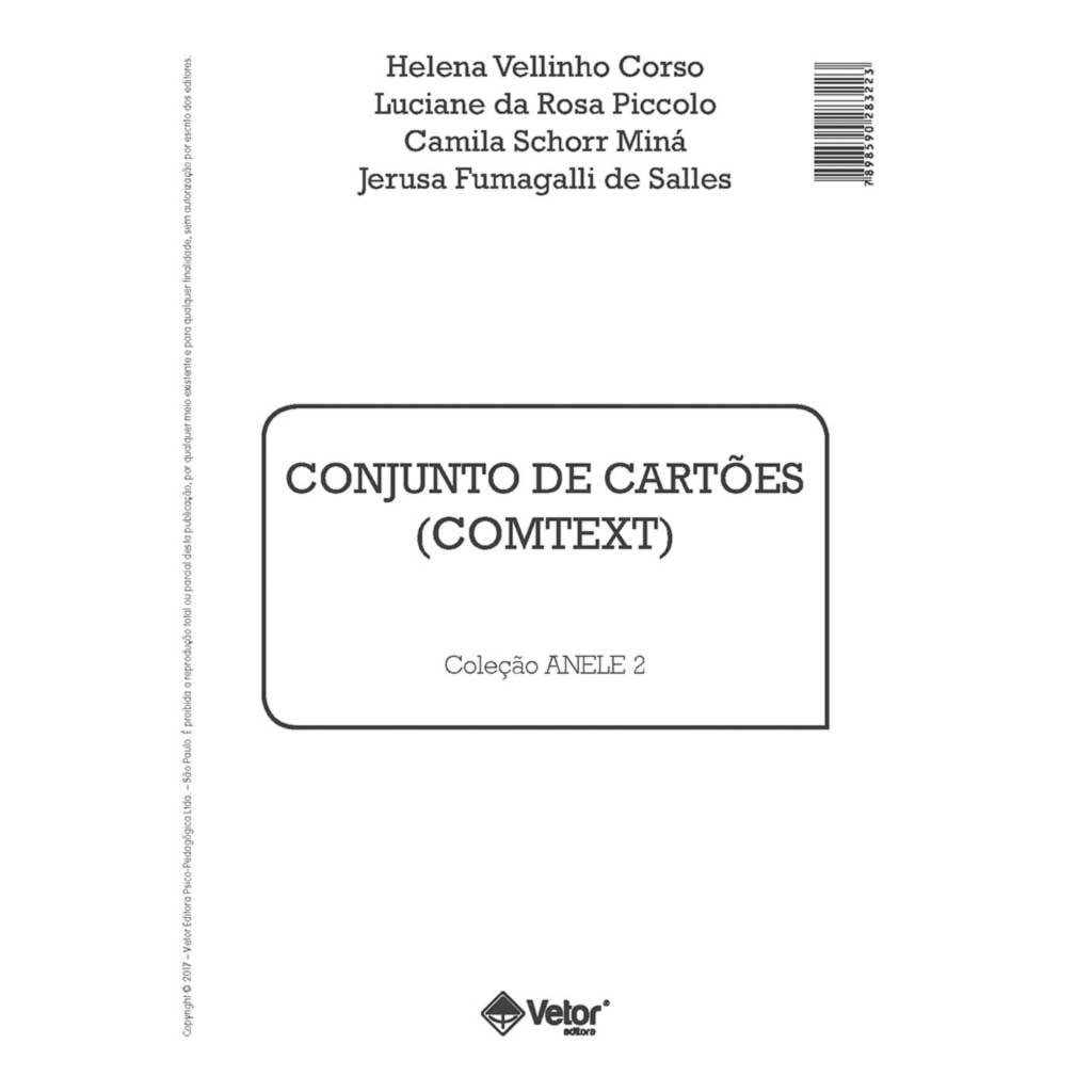 aed3d8beb Anele 2 - Comtext - Conjunto de Cartões (História e Questionário ...