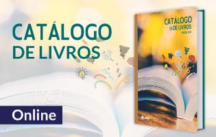 catálogo livros