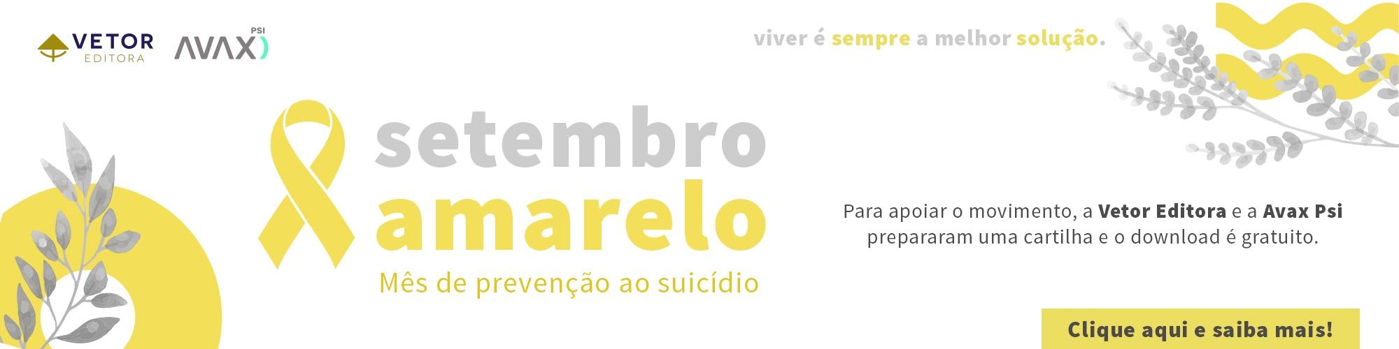 SETEMBRO AMARELO 2021