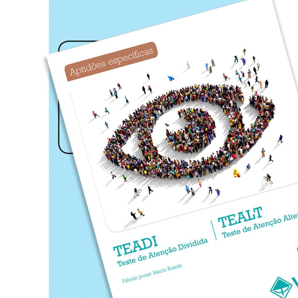 Coleção TEADI E TEALT - Teste de Atenção Dividida e Teste de Atenção Alternada
