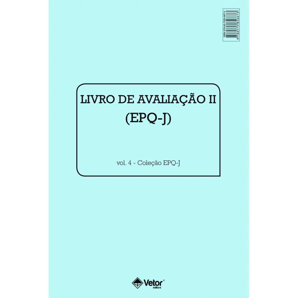 EPQ-J Livro de Avaliação II - População Geral