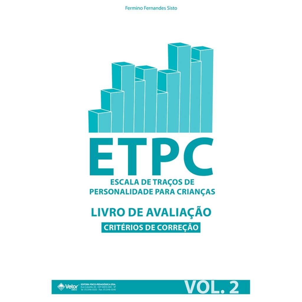 ETPC - Livro de Avaliação -  Critério de Correção