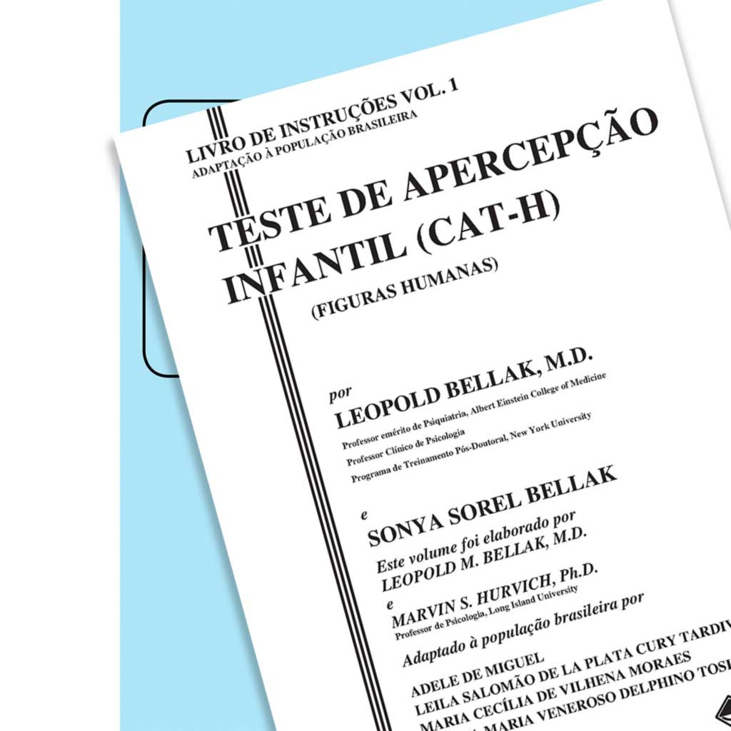 Coleção CAT-H - Teste de Apercepção Infantil – Figuras Humanas