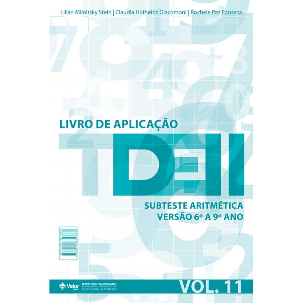 TDE II - Livro de Aplicação Subteste Aritmetica 6º ao 9º ano