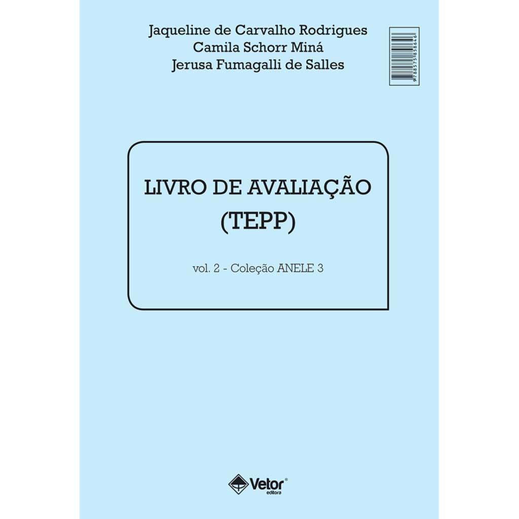 Anele 3 - TEPP - Livro de Aplicação e Avaliação