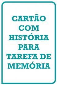 THCP Cartão Com História para Tarefa de Memória
