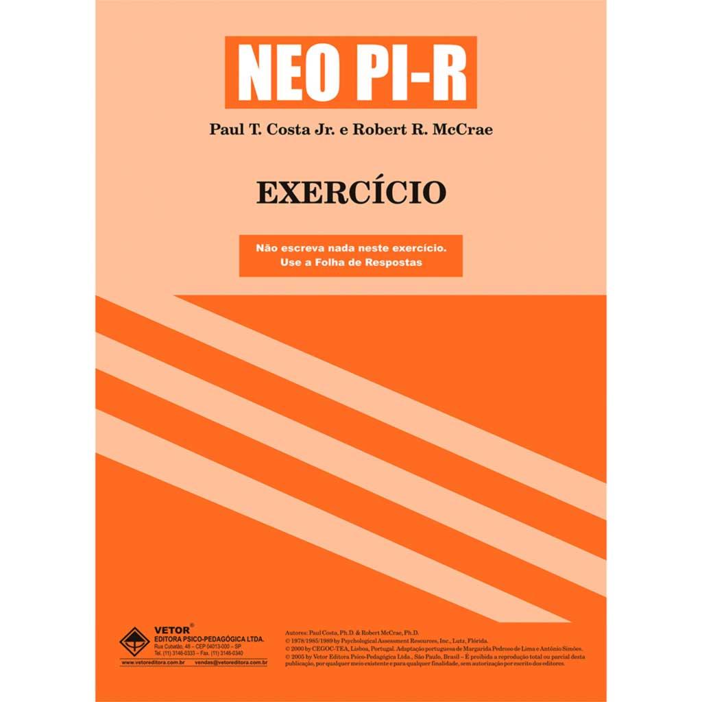 Neo PI-R Livro de Exercício