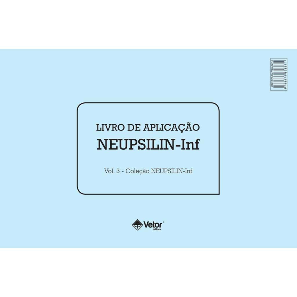 Neupsilin-Inf - Livro de Aplicação