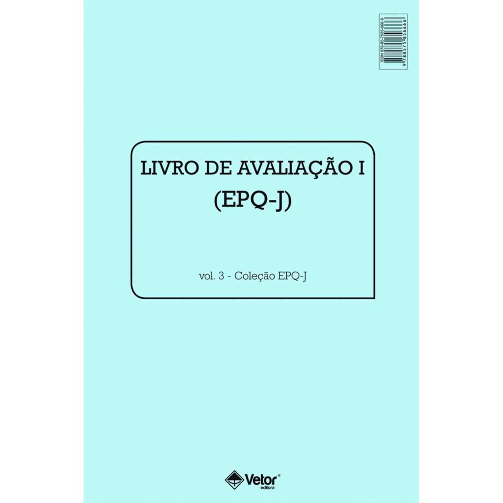 EPQ-J Livro de Avaliação I - Feminino / Masculino