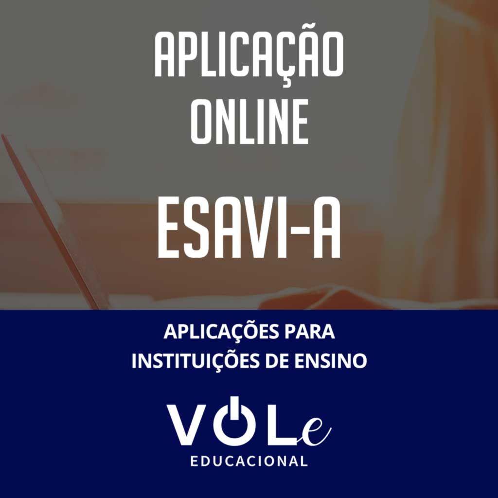 EsAvI-A - Aplicação Online  VOLe