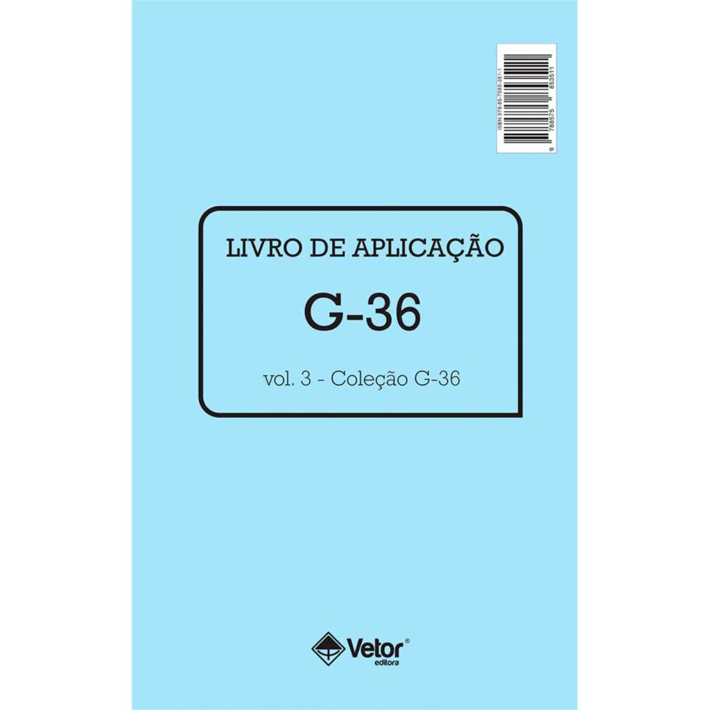 G-36 Livro Aplicação