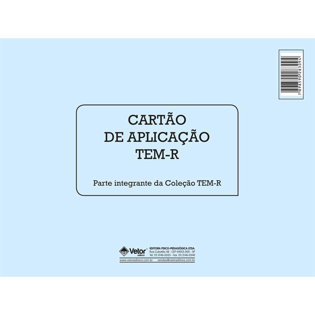 TEM-R - Cartão de Aplicação