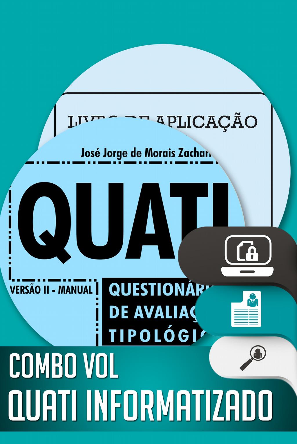 Combo QUATI Informatizado + MANUAL