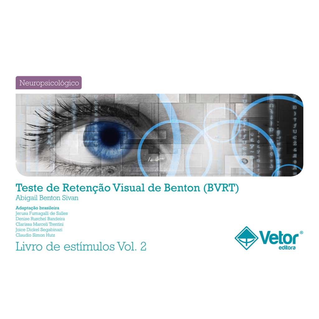 BVRT - Livro de Estímulos Forma C e D