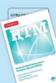 Coleção HTM - Teste de Habilidade para o Trabalho Mental