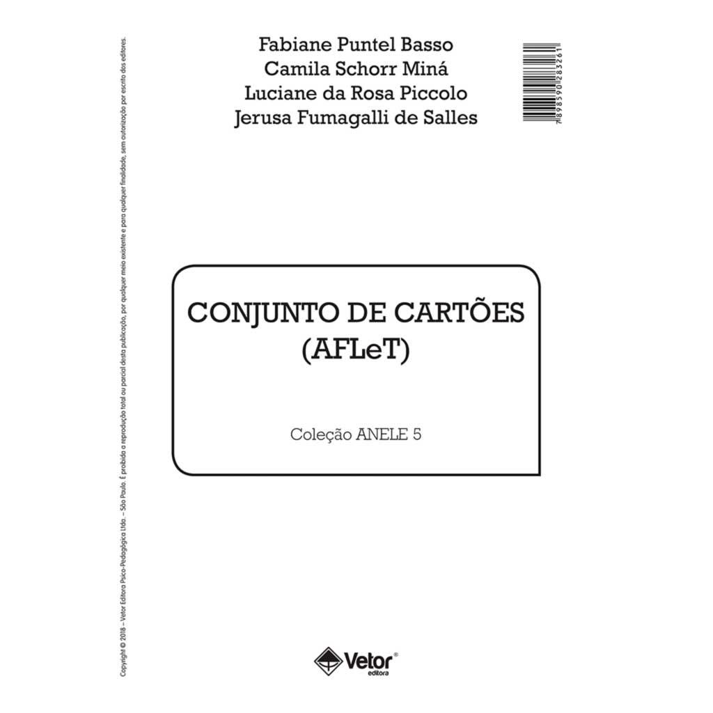 Anele 5 – AFLeT - Conjunto de Cartões (História e Questionário)