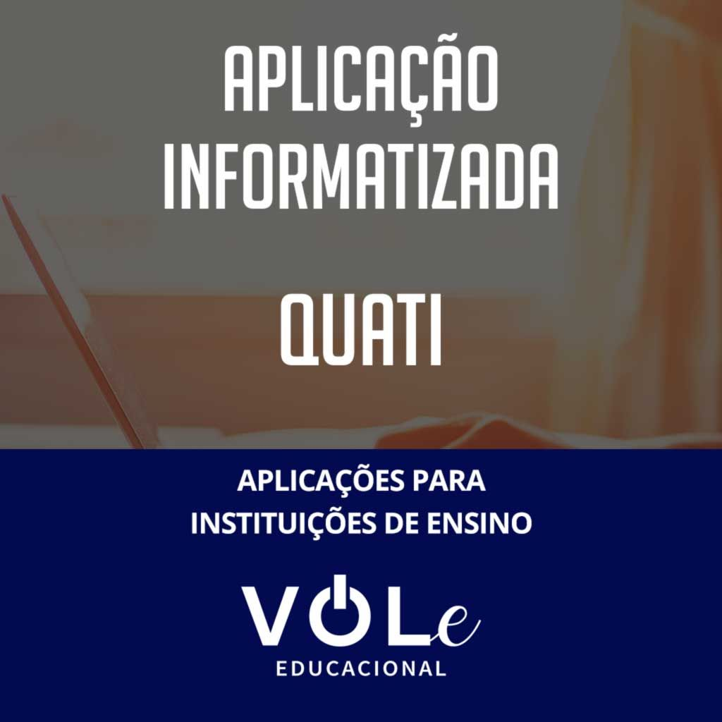 QUATI - Aplicação Online  VOLe