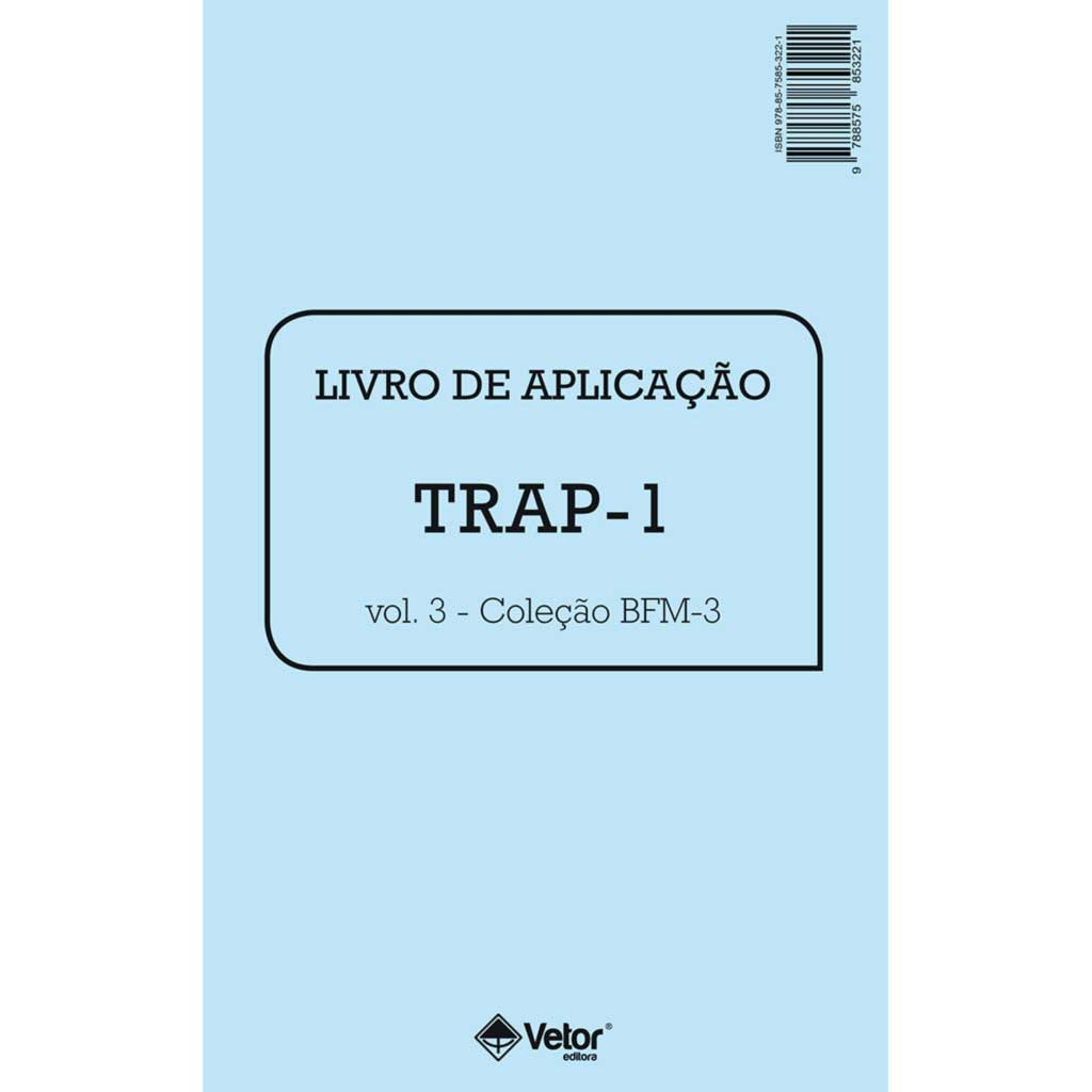 Trap - 1 Livro de Aplicação - BFM-3