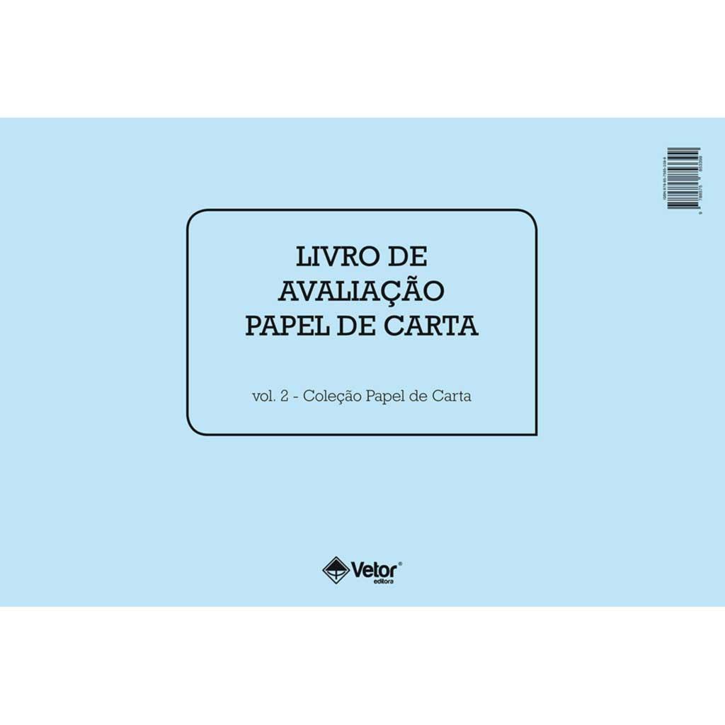 Papel de Carta Livro de Avaliação
