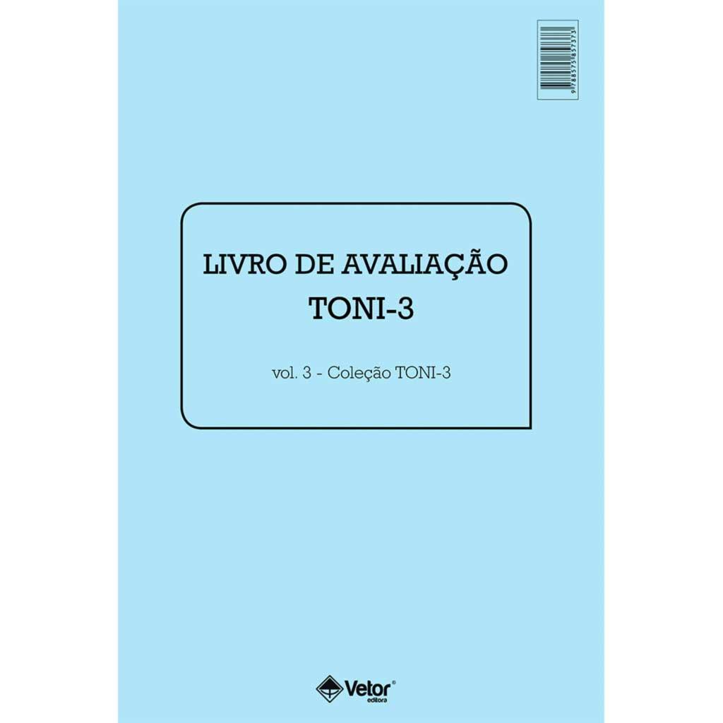 Toni-3 Livro de Aplicação