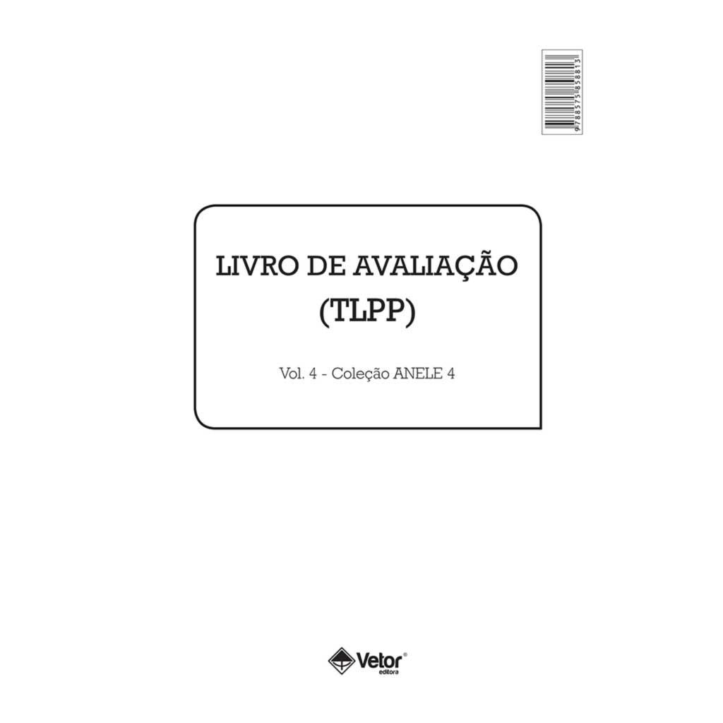 Anele 4 - TLPP - Livro de Avaliação